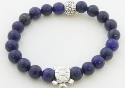 Bracelet de lapis lazuli bijouterie lamalle sens