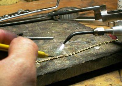 Réparation d'une chaine