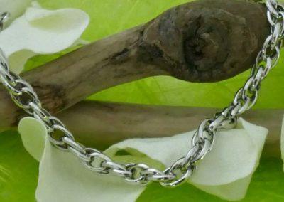 Bracelet en or blanc 18k sens